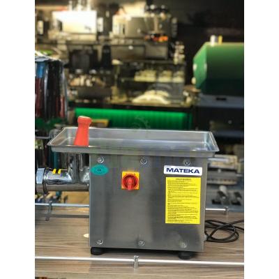 MATEKA 12 Numara Kıyma Makinesi - 12 no Kıyma Makinası - 12 Et Kıyma Paslanmaz Gövde (100Kg/Saat)