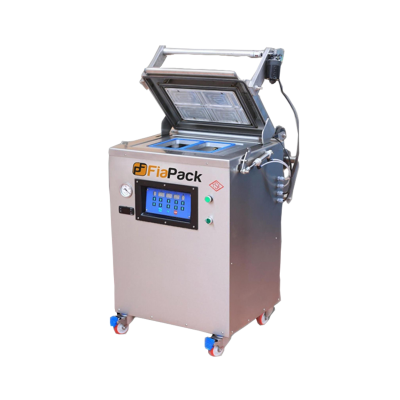 FiaPack Yarı Otomatik Gıda Gazlı Vakumlu Kase Tabak Kapatma Makinesi