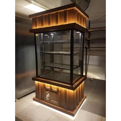 Cephe Model Pasta Dolabı Ahşap Dekorlu 150 Cm