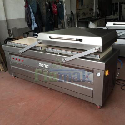 Çift Odalı Seri Üretime Uygun Sanayi Tipi Vakum Makinası ( 100 cm )