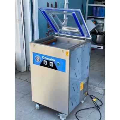 Makropack 41 Cm Çift Çene Ayaklı Vakum Makinesi YERLİ ÜRETİM 3 Yıl Garantili