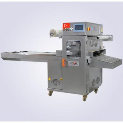 KV-1000 Gazlı Kase Tabak Kapatma Vakum Makinesi (Tam Otomatik)