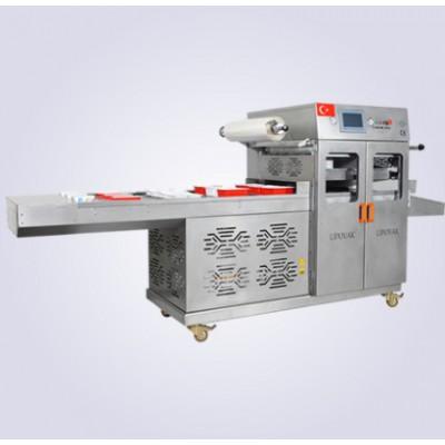 KV-3000 Tam Otomatik Gazlı Tabak Kapatma Makinası ( Tam Otomatik )