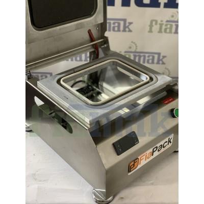 Fiapack Yerli Üretim 5 Farklı Kalıplı Paketleme Makinesi (5 Kalıplı) Tabak Kapatma Makinesi 178x227mm