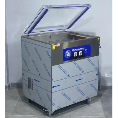 Makropack 50 Cm Çift Çene Ayaklı Büyük Hazne Vakum Makinesi 50XL 50*65cm