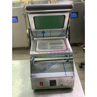 Tabak Kapatma Makinesi - Kase Tabak Kapatma Makinası - 3 Bölmeli Catering Yemek Paketleme Makinesi